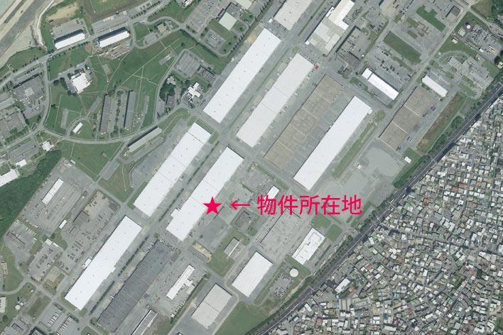 航空写真(衛星地図)のポインティングのよい例
